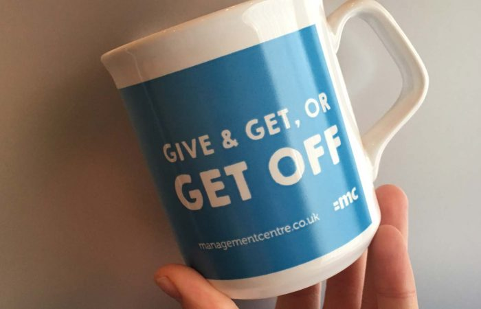 Give & Get, or Get Off Mug Graphic
