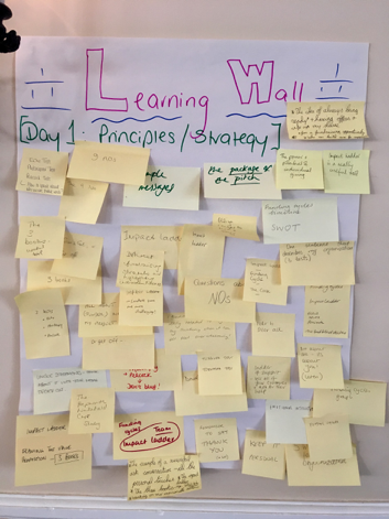 NAFS learning wall