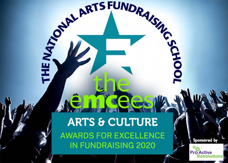 National Arts Fundraising School | The Emcees | Awards for Excellence in Fundraising 2020
