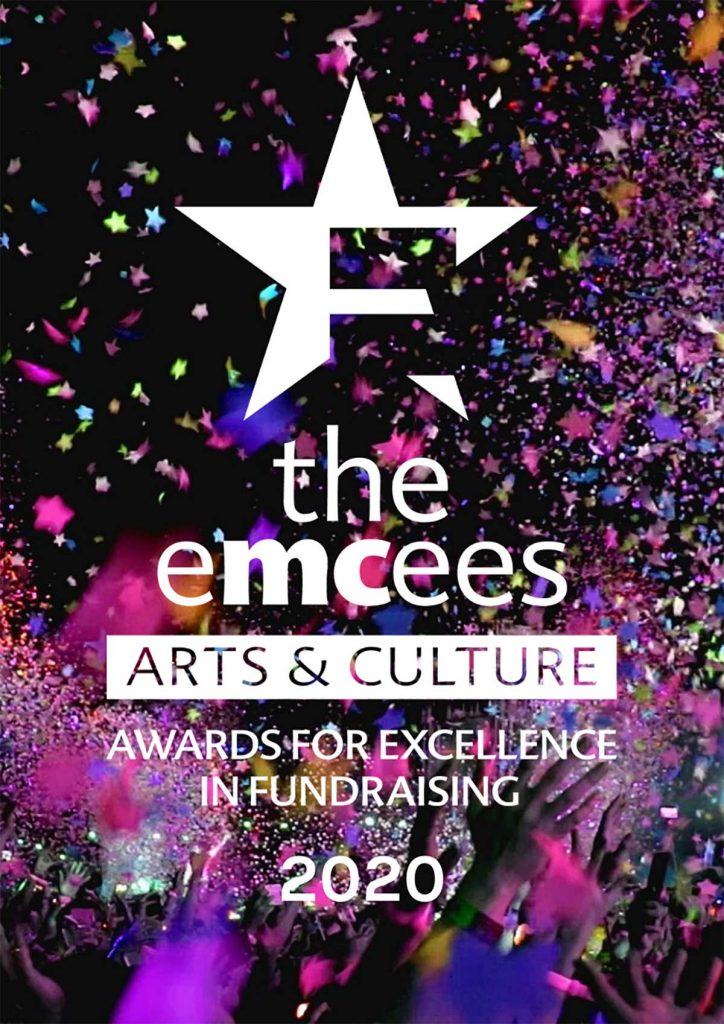the emcees | Arts & Culture | Awards for Excellence in Fundraising 2020