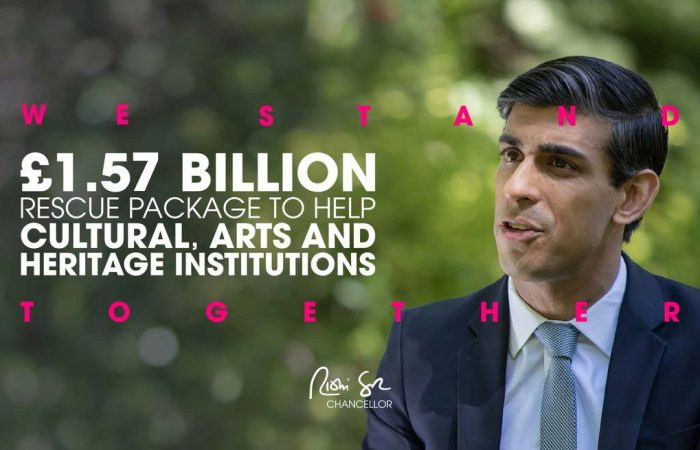 We Stand Together | £1.57 Billion for Cultural, Arts and Heritage Instituions | Rishi Sunak